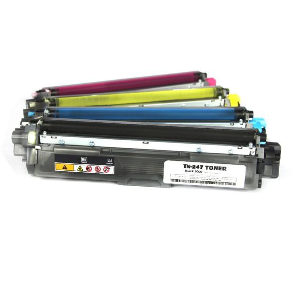 Brother TN-247 multipack kompatibler Toner 4 XXL Set alle Farben