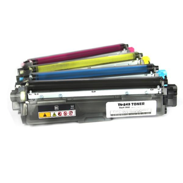 Brother TN-243 multipack kompatibler Toner 4 XXL Set alle Farben