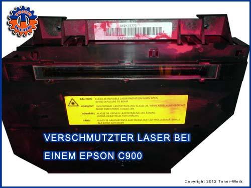 Laser Verdreckung
