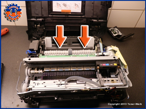 Fremdkoerper im Drucker