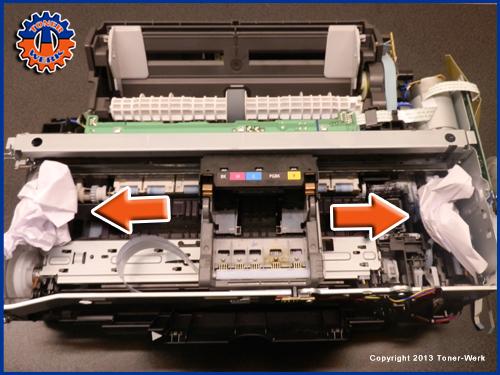 Papierstau im Drucker