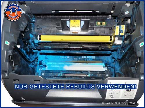 Laserdrucker Toner verdreckung